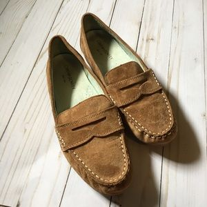 Cynthia Rowley suede loafers